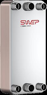 Schimbător de căldură SWEP DFX400
