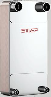 Schimbător de căldură SWEP DFX650